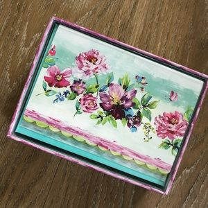New Floral Note Cards